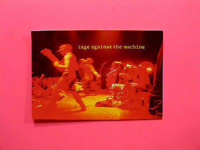 Official 1994 Vintage Red Hot Chilli Peppers Postcard  Uk Made