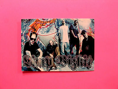 Official Limp Bizkit Postcard  Uk Made