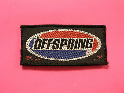Small Official Offspring Woven 1999 Patch Uk Import  Sew-On