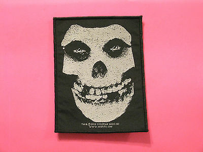 Official Woven Misfits 2002 Patch Uk Import