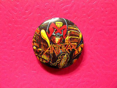 New Anthrax Button Pin Badge Uk Made