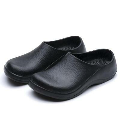 Men Chef Shoes in Kitchen Nonslip Safety shoes Oil & Water Proof for Cook XW