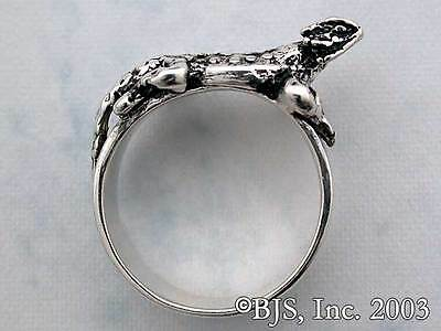 Sterling Silver Horned Toad Ring,Lizard Ring, Lizard Jewelry, Your Size, New