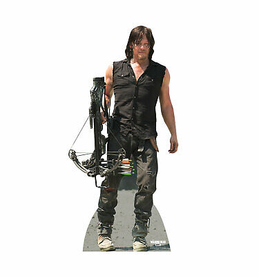 Daryl Dixon NEW THE WALKING DEAD AMC Cardboard Cutout Standup Standee Poster