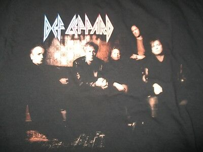 "2000 DEF LEPPARD ""EUPHORIA"" Tour Concert (MED) T-Shirt JOE ELLIOTT PHIL COLLEN"