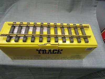 11000 Aristocraft 12 Inch Brass Straight Track New Case Of 12 Pieces