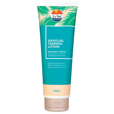 Le Tan Self Gradual Tanning Lotion Coconut Water 250ml