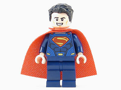 Superman LEGO Minifigure - Genuine Minifig from Set 76044 Clash of Heroes