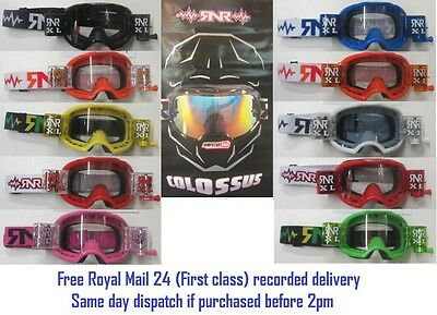 Rip N Roll RNR COLOSSUS XL Roll off goggles