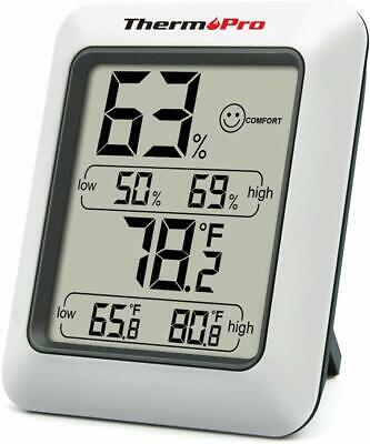 ThermoPro Hygrometer Thermometer Indoor Humidity Monitor with Temperature