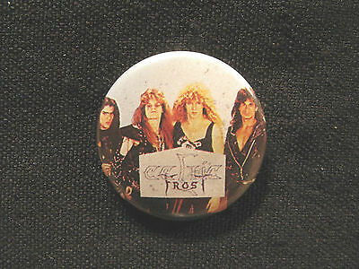Vintage Celtic Frost Button Pin Badge Uk Made