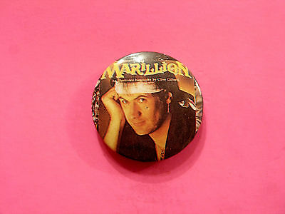 """MARILLION VINTAGE BADGE FROM THE 80's  1"""" BUTTON UK MADE"""