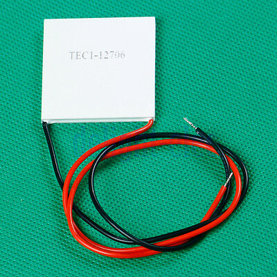 Easy use TEC1-12706 Heatsink New Thermoelectric Cooler Peltier Cooling Plate DE