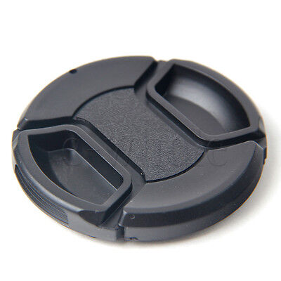 58mm Front Lens Cap Hood Cover Snap-on for Canon Olympus Nikon Fuji Camera DE