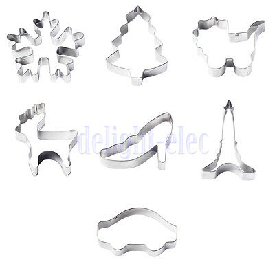 Multi-use Cookie Cake Cutter Mold Chocolate Pastry Baking Mold Kitchen Gadget DE