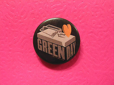 Green Day Badge Button Pin Uk Made