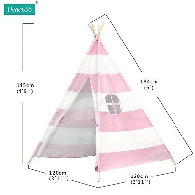 2016 Kids Ball Pit Play Teepee Tipi Tent Childrens Indoor Outdoor Playhouse