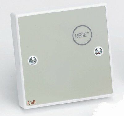 Tc402 - C-Tec Nc809Db/ss Stainless Steel Button Reset Point, Care Alarm System