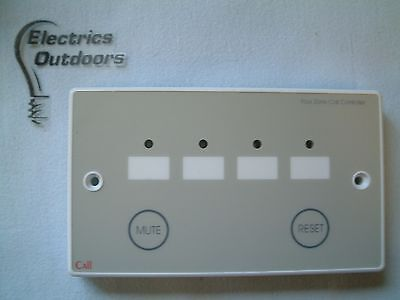 Tc399 - C-Tec Nc944 Four Zone Call Controller With Mute/reset Button Care Alarm