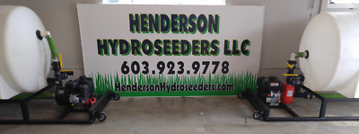 325 Gallon Henderson Hydroseeder (Comes with 50ft of hose for free)