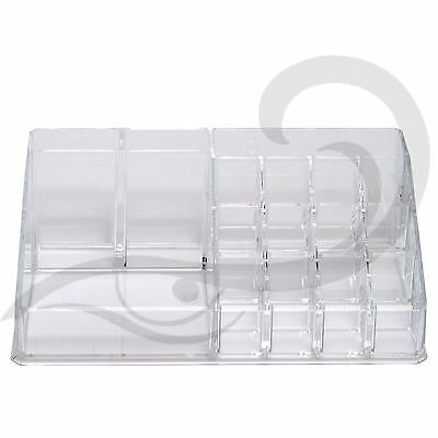 Chit Chat Make-up Organiser Clear Acrylic Cosmetic Jewellery Storage Organizer