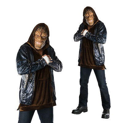 Rubies Mens Official Suicide Squad Deluxe Killer Croc Adults Fancy Dress Costume