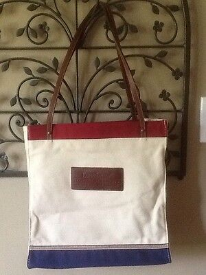 Longaberger 2003 BEE Bag - Love it Live it Share It - Red White & Blue