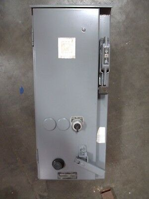 Square D 30 Amp Combo Box Size 1 Starter Type 50A24