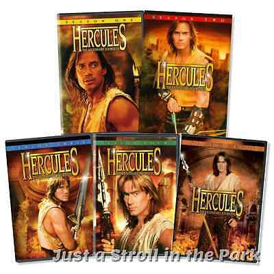 Hercules The Legendary Journeys: TV Series Complete Seasons 1-5 DVD Box Sets NEW