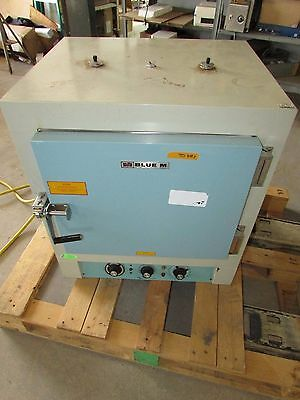 Blue M OV-18A Lab  Stabil-Therm Variable Gravity Electric Oven WORKING