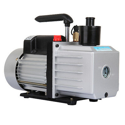 Electric 9CFM 250W 3/4HP HVAC Air Condition Refrigerant Vacuum Pump Pumping Work