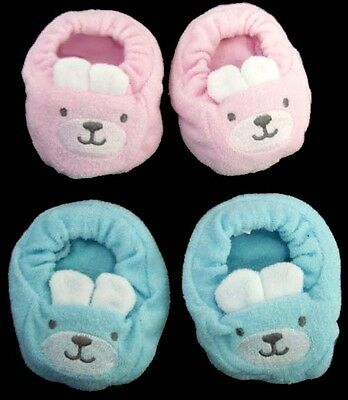 Baby Goods Soft Booties For New Born - Bunny Design  6 Pairs Lot   (01406BS ^)