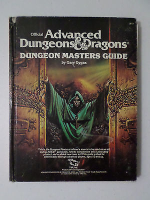 Advanced Dungeons & Dragons Dungeon Masters Guide TSR 2011