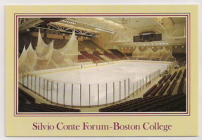 Silvio Conte Forum Boston College Hockey Arena Postcard