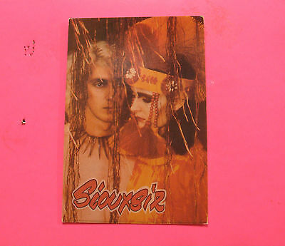 Siouxsie&the Banshees Vintage Postcard Not Button Pin Badge
