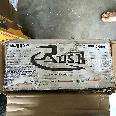 """Rush Exhaust 4"""" Slip-Ons for Indian 3.0"""" Tip,45015-300"""