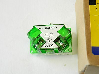 Square D 9001KA2TAD1 Push Button Contact N/O KA Series