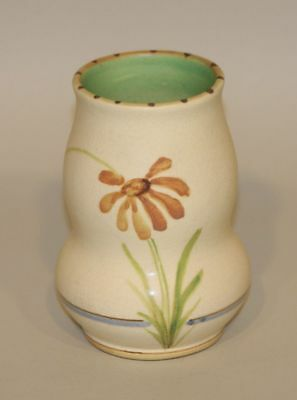 1920s Weller Pottery 5 Inch Handpainted Bonito Vase
