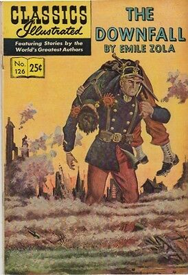 Classics Illustrated - The Downfall - Number 126 - 1968