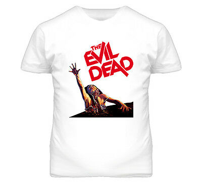 The Evil Dead Horror Movie Cult Classic Retro T Shirt