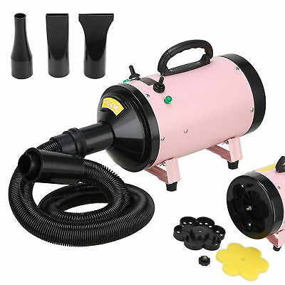 2800w Pet Hair Dryer Quick Blower Hairdryer Speed Heater Dog Cat Grooming