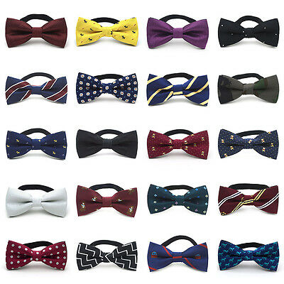 Cute Baby Toddler Infant Kids Wedding Bow Tie Party Bowtie Pre-Tied Necktie
