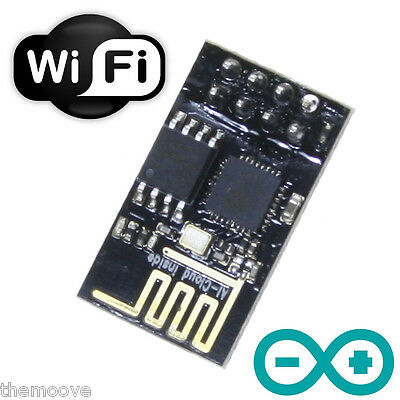 ESP8266 ESP-01 ESP01 UPGRADED 1MB Flash 802.11 WiFi NodeMCU Arduino Raspberry Pi