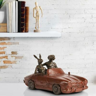 GILLIE AND MARC-direct from the artists-authentic bronze sculpture convertible
