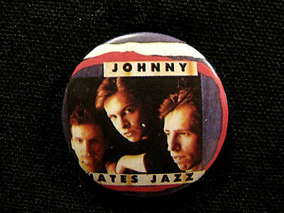 "Johnny Hates Jazz Vintage 1"" Badge Button Uk Import"
