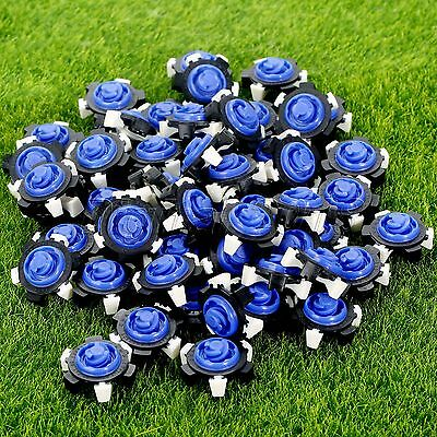 Golf Shoe Spikes Replacement Eight Feet Spikes Champ Cleat Fast Twist Tri-Lok