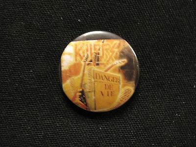 "Killers Vintage 1"" Button Badge Pin French Metal Band"
