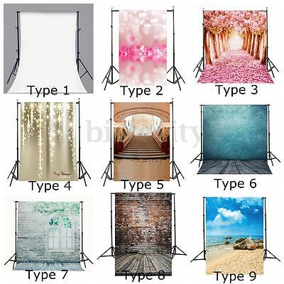40 Types 5x7FT Vinyl Photography Backdrop Brick Wall Floor Photo Background Prop