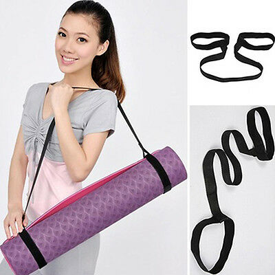 Durable Yoga Mat Carry Sling Carrier Shoulder Strap Belt Assistant Tool Truly