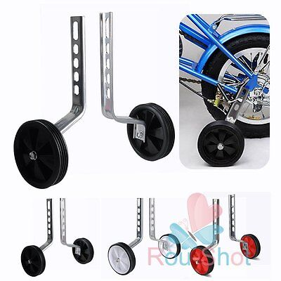 1Pair 12-20'' Kids Stabilisers Training Wheels For Children Bicycle Cycling【AU】